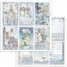 Winter Tales, šest kartiček 30,5x30,5 scrapbook