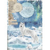 Papír rýžový A4 Arctic Antarctic, vlk