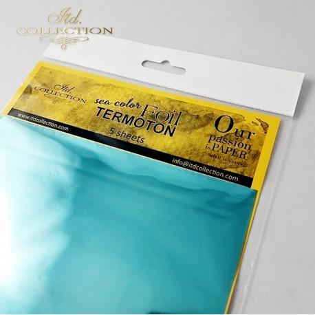 Fólie Termoton - mořská modrá
