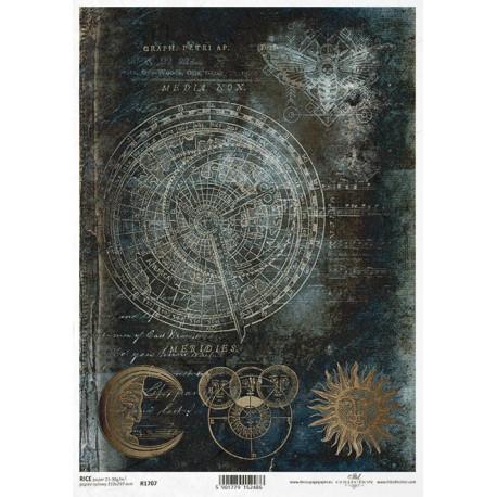 Papír rýžový A4 Magický svět, horoskop