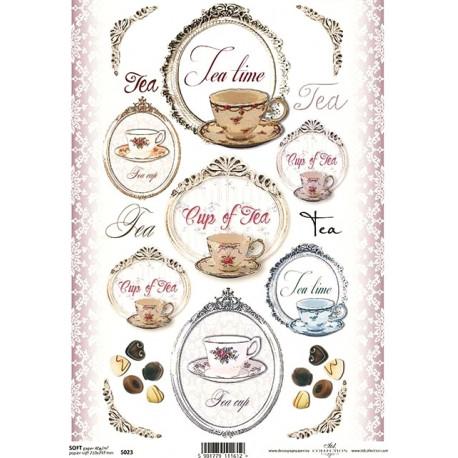 Papír soft A4 Tea Time