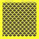 Šablona ITD - Vzor rybí šupiny 16x16