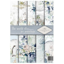 Sada papírů A4 - The world of ice porcelain (ITD)
