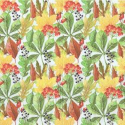 Podzimní plody a listí 33x33
