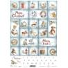 Papír rýžový A4 Adventní kalendář