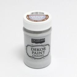 Dekor Paint Chalky 100ml šedá (Pentart)