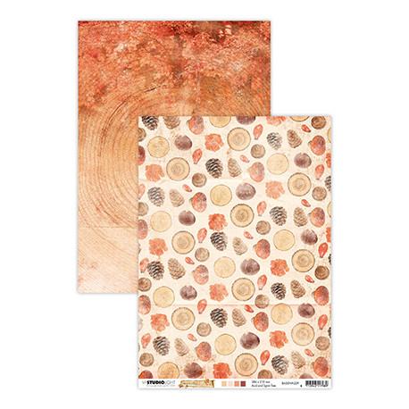 Scrap.papír oboustranný A4 Wonderful Autumn, nr.329 (SL)