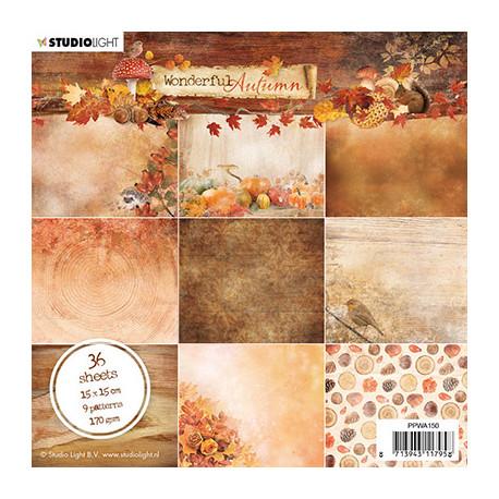 Sada papírů 15x15 Wonderful Autumn nr.150 (SL)