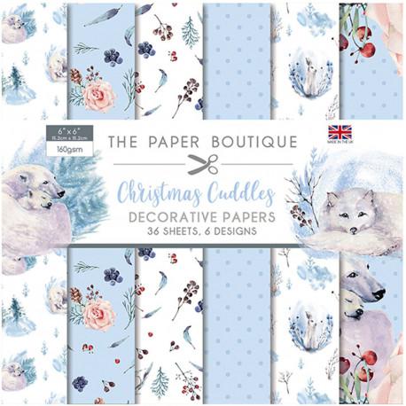 Sada papírů 15x15 - Christmas Cuddles (CW)