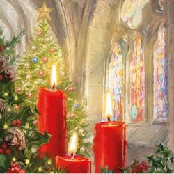 Svíce v kostele 33x33