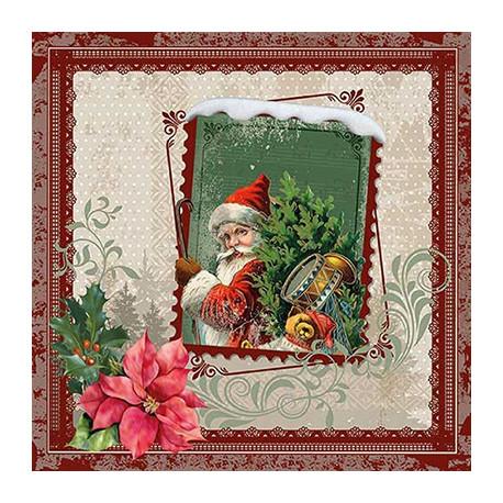 Santa v rámečku 33x33