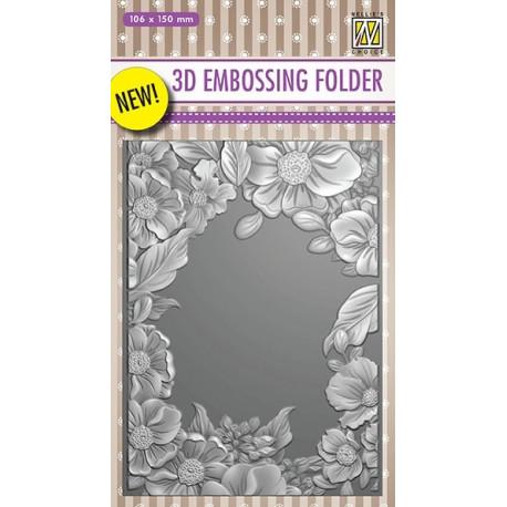 Embos.kapsa 3D - Květinový rámeček (Nellie´s Choice)