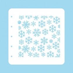 Šablona Sněhové vločky (Nellie´s Choice)