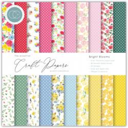 Sada papírů 15x15 Bright Blooms (CC)