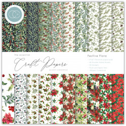 Sada papírů 15x15 Festive Flora (CC)