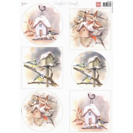 Papír A4 Birdhouses (MD)