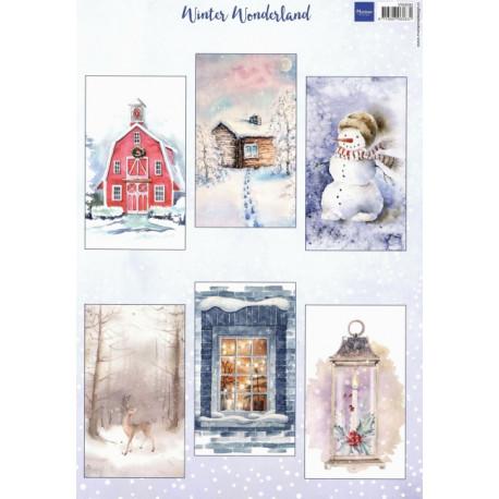 Papír A4 Winter Wonderland (MD)
