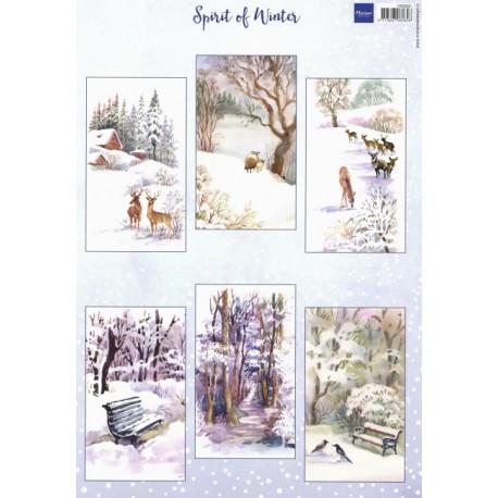 Papír A4 Spirit of Winter (MD)