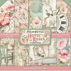 Sada papírů 30,5x30,5 190g House Of Roses