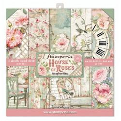 Sada papírů 20,3x20,3 190g House Of Roses