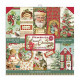 Sada papírů 20,3x20,3 190g Classic Christmas