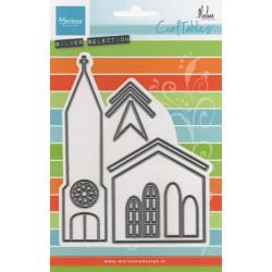 Vyřezávací šablony - kostel (MD)