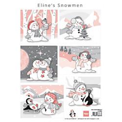 Papír A4 Eline's snowmen (MD)