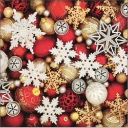 Vánoční ozdoby 33x33