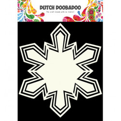 Šablona Dutch Shape Art Snowstar