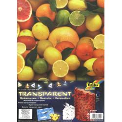 Sada Citrusové plody - 5ks transp.papírů (F)