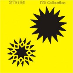 Šablona ITD - Hvězda 3D 16x16