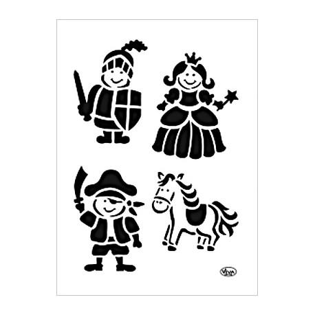 Šablona - Dětské obrázky, vel. A4 (F)