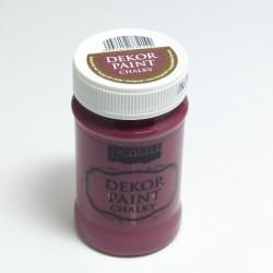Dekor Paint Chalky 100ml burgundská červená (Pentart)