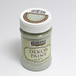 Dekor Paint Soft 100ml country zelená (Pentart)