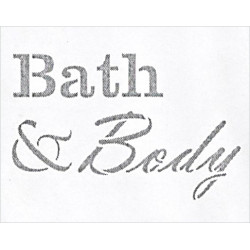 Šablona - Bath & Body, vel. A4 (F)