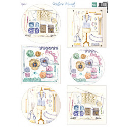 Papír A4 Mattie's mooiste - Crochet ( MD)