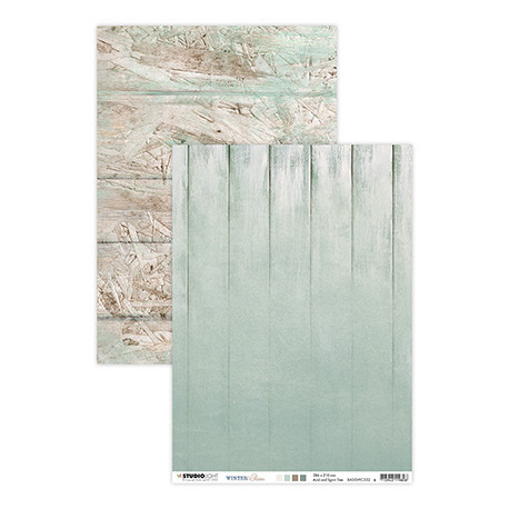 Scrap.papír oboustranný A4 Winter Charm, nr.332 (SL)