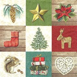 Vánoční obrázky mix 33x33