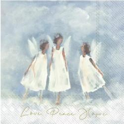 Láska, mír, naděje 33x33