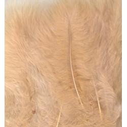 Peříčka Marabu 15ks, béžové