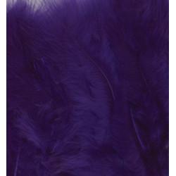 Peříčka Marabu 15ks, fialové