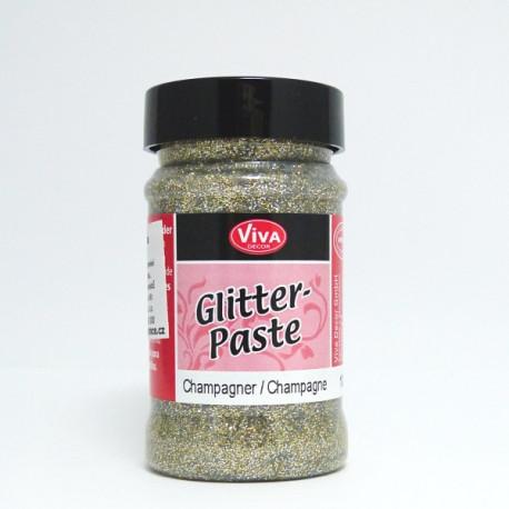 Glitter Paste 90ml - šampaňská (F)