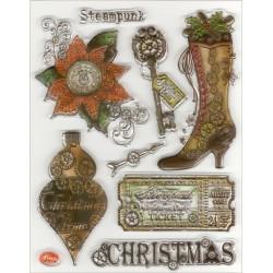 Razítka D116 Steampunk Christmas (F)