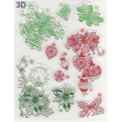 3D Razítka D70 Vánoční motivy (F)