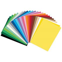 Fotokarton 300g/m2, 250 listů A4, mix 25 barev (F)