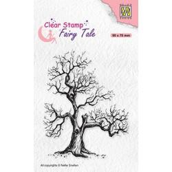 Transp.razítko - elfí strom (Nellie´s Choice)
