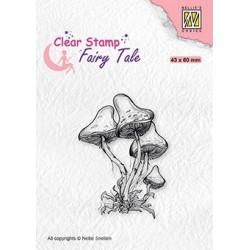 Transp.razítko - houbičky (Nellie´s Choice)