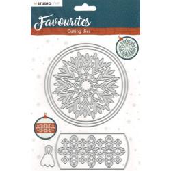 Vyřez.šablona Winter's Favourites - nr.340 (SL)