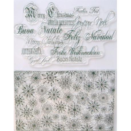 Transp.razítka Vánoční pozadí a nápisy D10