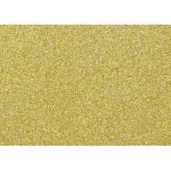 Moosgumi třpytivá zlatá, A4 list